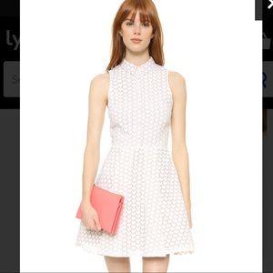 Alice + Olivia heart print dress